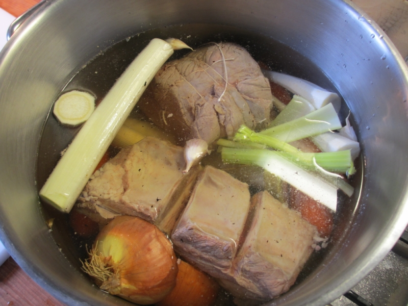 It may be winter outside but there is a cure: Pot-au-feu.