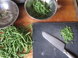 One of the best ideas the French had: add green beans to salads!