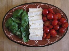 Fake Italian (Greek cheese).
