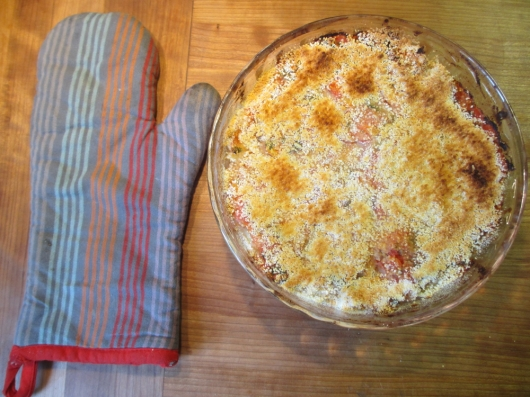 And here it is: Gratin de Morue